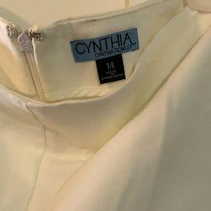 Rafaella lightweight linen/rayon cropped pants. I